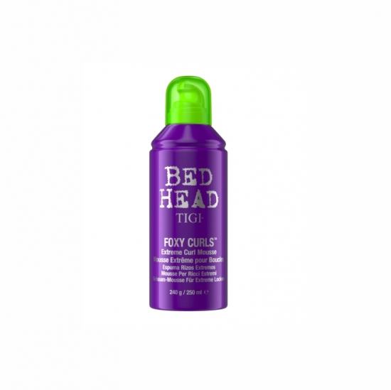 Mousse Tigi Bead Head Fox Curls